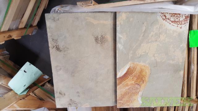 Slate Stone Tile 12 X 18  -294 Sf