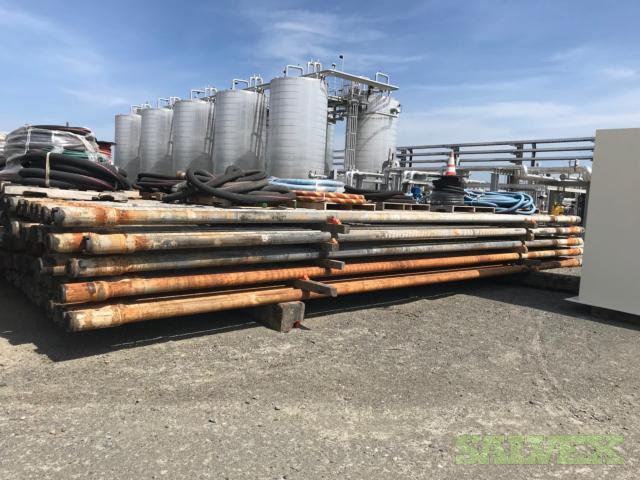 5 19.5# XT-50 Used Drill Pipe (12,537 Feet / 110.89 Metric Tons)