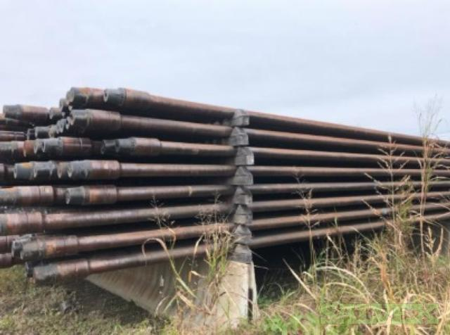 4 14# S135 NC40 Used Drill Pipe (9,720 Feet)