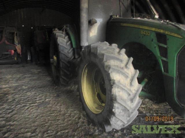 Agriculture Equipment: John Deere Tractors (8430, R450, 8270R) Massey Ferguson Balers & Highline CFR650 Bale Processor (6 Units)