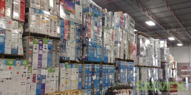 LED Broken TVs  40 -70 - 1,923 Units /101 Pallets