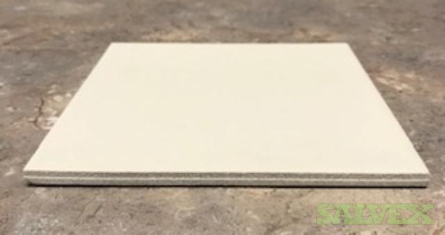 White Glazed porcelain Tile-Non-Skid 6 x 6 -9,500 Sf