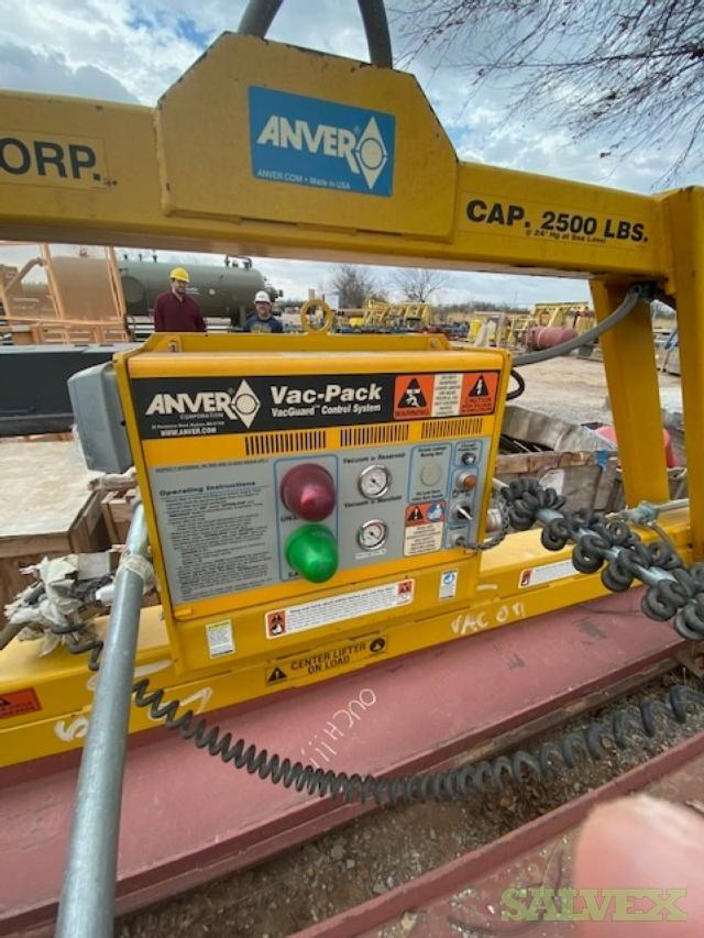 ANVER Suction Cup Plate Lifter 2,500 Lbs Capacity, 2013