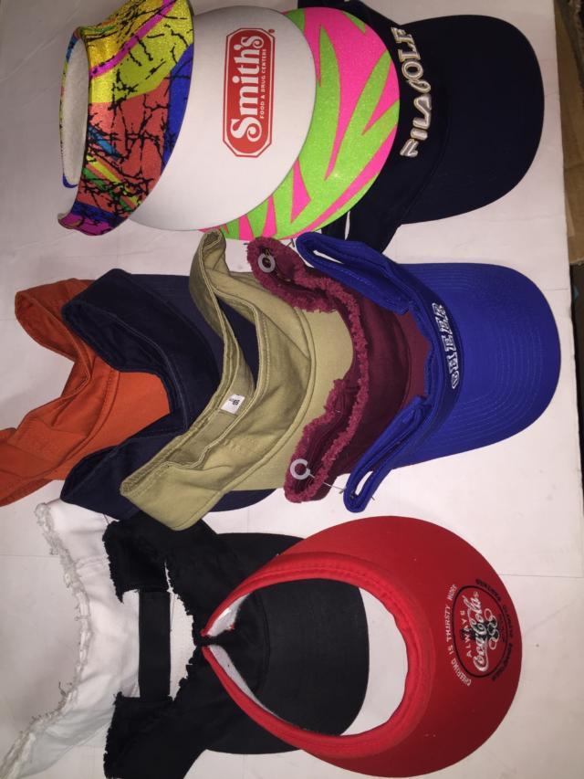 Assorted Hats and Visors - 3,500 Units
