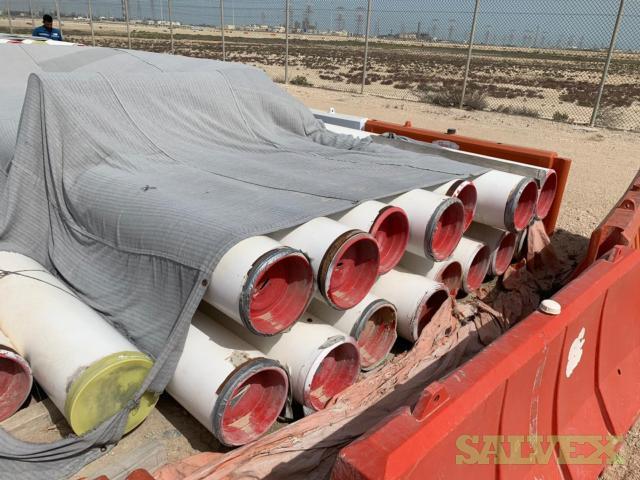 14 50.50# Surplus Line Pipe (1,064 Feet / 24.36 Metric Tons)