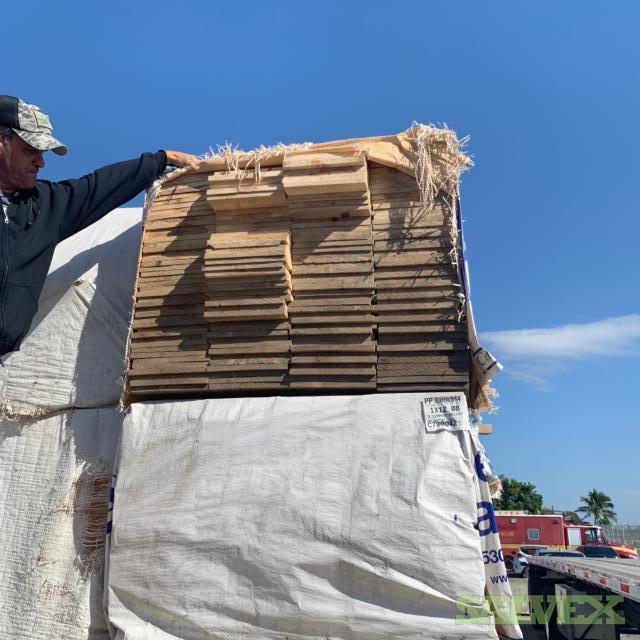 Dry Ponderosa Pine Lumber (2,884  Pieces)