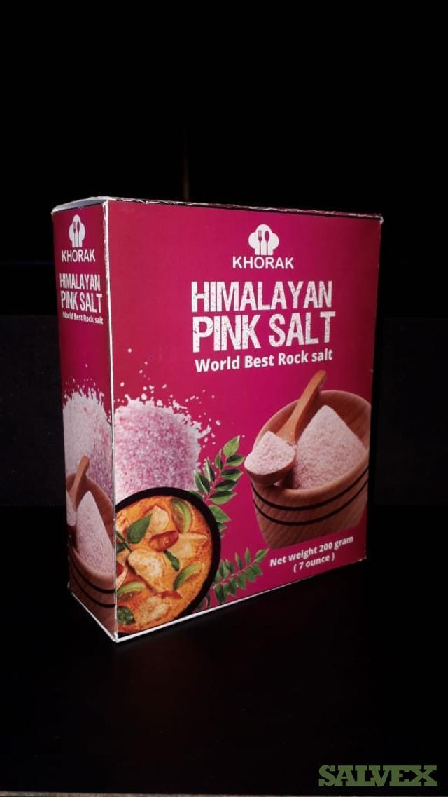 Himalyan Pink Salt - 12,000 Boxes