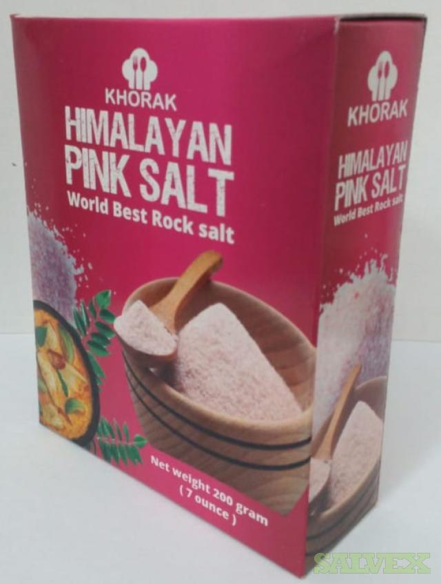 Himalyan Pink Salt - 7680 Boxes