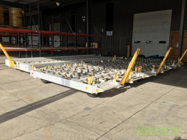 Airport Cargo Dollies: 10ft and 20ft (4 Units)