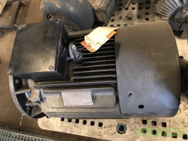 Electric Induction Motors 50 HP (2 Units Rebuilt)