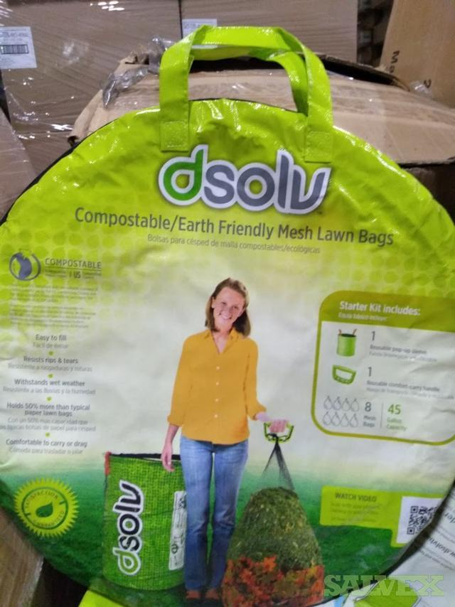 DSOLV Compostable Mesh Lawn Bags