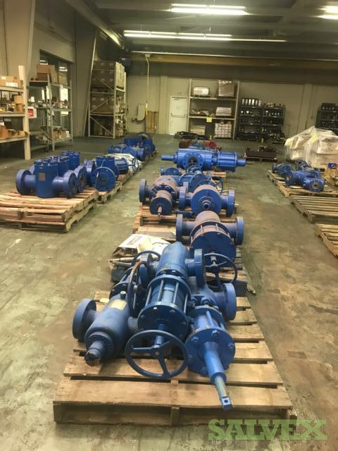 Oilfield Gate & Check Valves w/ MTR's ( 16 Adapters & 32 Valves )