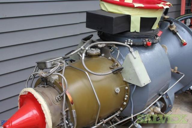 Turbomeca Astazou IVC2 Industrial Turbine Helicopter Engine ( Rebuilt)