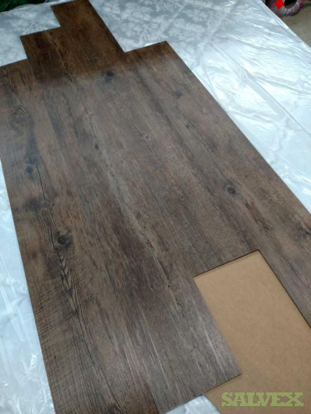 Luxury Vinyl Plank - Commercial Duty,  4,000 sqft ,  Color : Rustic