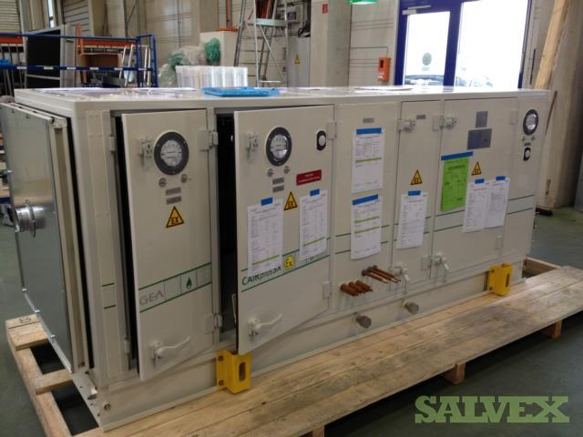 HVAC System: Control & Power Cabinet, GEA CAIRplus Air Handling Units, Compressors (5 x 20ft Containers)