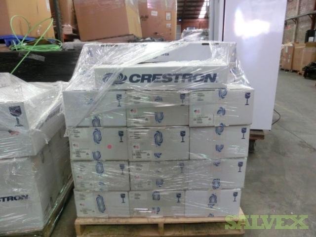 Crestron Equipment Audio Receiver, Outdoor Speakers, Wireless Expander, Power Supply, etc. (251 Units)