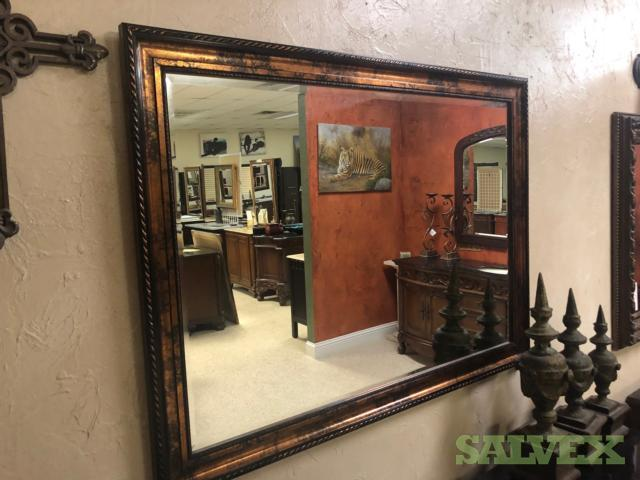 31 x 42 Solid Wood Framed Mirrors (200 Units) in Texas