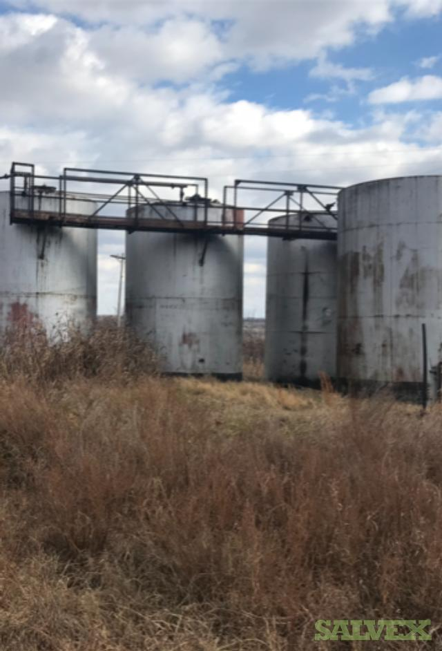 Steel 210 BBL Storage Tanks (6 Units)