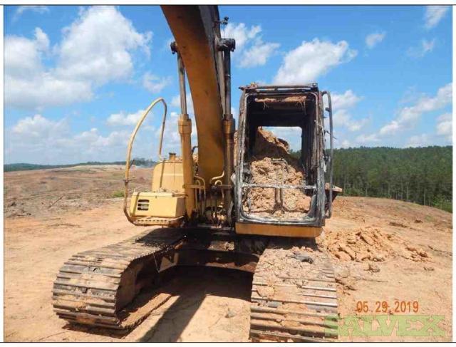John Deere 120C Excavator 2005 (#277-022831)
