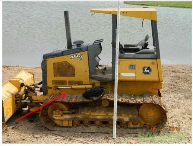 John Deere 450J Crawler Dozer