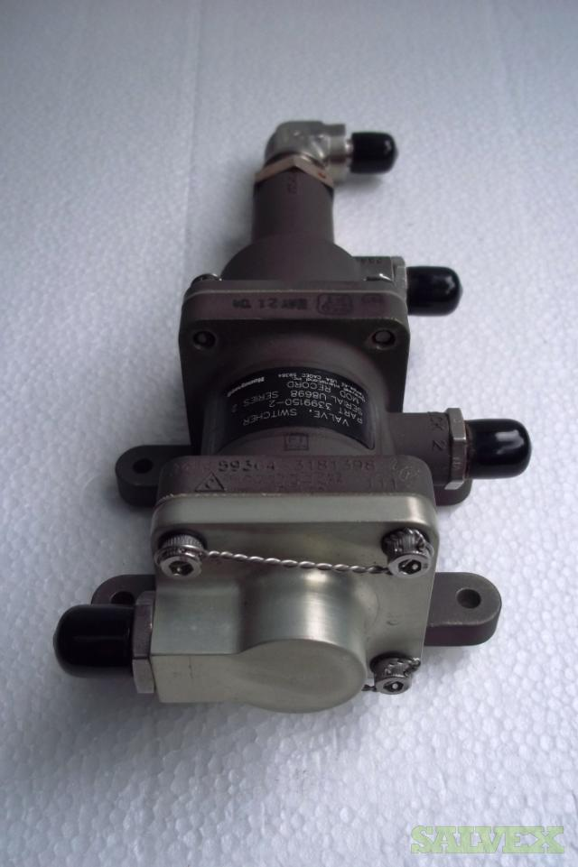 CF6 Engine Materials with FAA 8130-3 (Tras Lock Assy and Switcher Valves) - (4 Units)