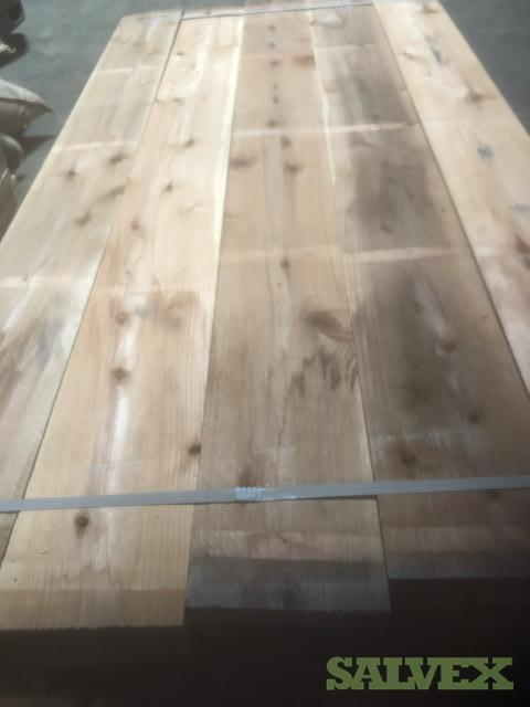 Japanese Cedar Fencing Lumber S4S 1.77 x 8.268 x 78.7 (2175 Pieces / 29 Pallets)