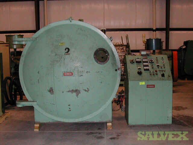 Penwalt Stokes Vacuum Metalizing Chambers (3 Units)