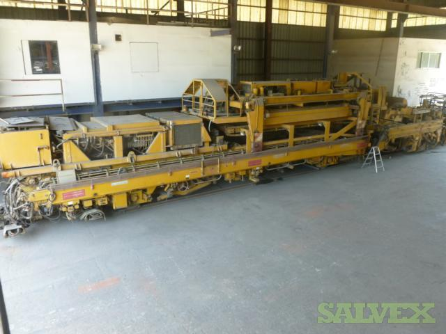 Railway Track Laying Machine / Track Renewal System
