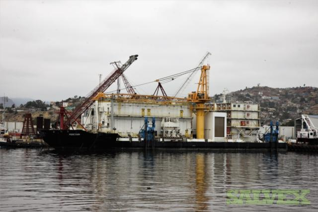 Floating Production Offloading (SPO) Barge (Lightweight Tonnage: 5,567)