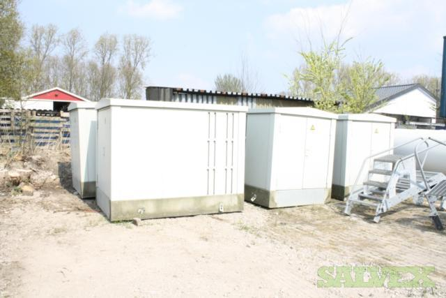 Transformer Stations - Including Switch Gear 800 kVA (3 Units)