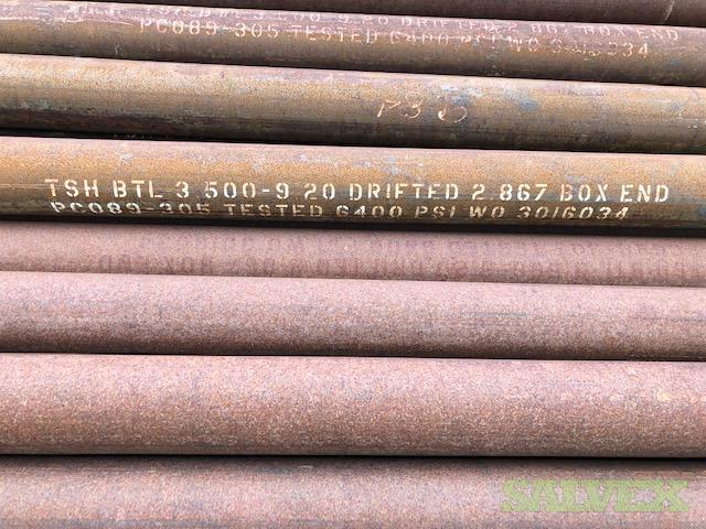 3 1/2 9.30# J55 TSH Blue R2 Surplus Tubing (21,356 Feet / 90 Metric Tons)