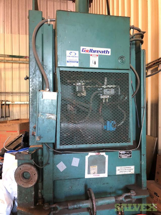 Galbreath Vertical Hydraulic Baler Model HD2200-4054, Year 2001