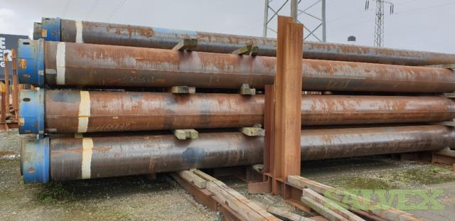 24 1.000WT X56 XLC-S Surplus Line Pipe (2,040 Feet / 227.51 Metric Tons)