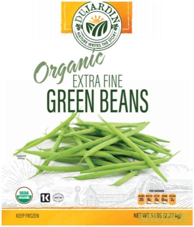 Frozen Extra Fine Whole Green Beans (147,840 Lbs)