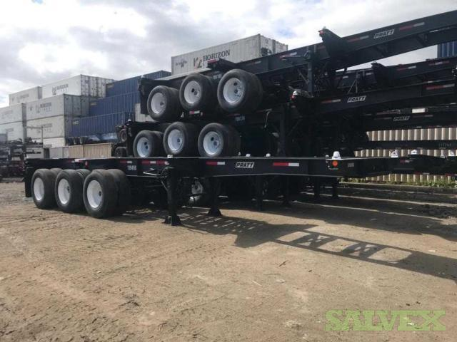 Tri-Axle Chassis 20/40 Combo