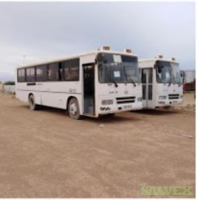 Daewoo Buses: 3x 65 Seat Units 2011 // 1x 45 Seat Unit 2007 (4 Units)