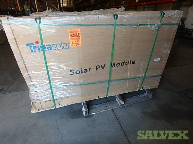 Trina Allmax Plus 300W Monocrystalline 60 Cell Modules - Damaged (14,100 Watts / 47 Units)