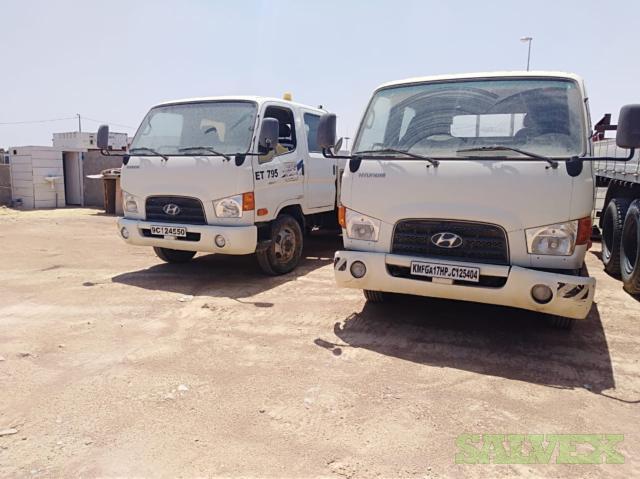 Hyundai Mini Cargo Trucks 2.5T Capacity (2 Units)
