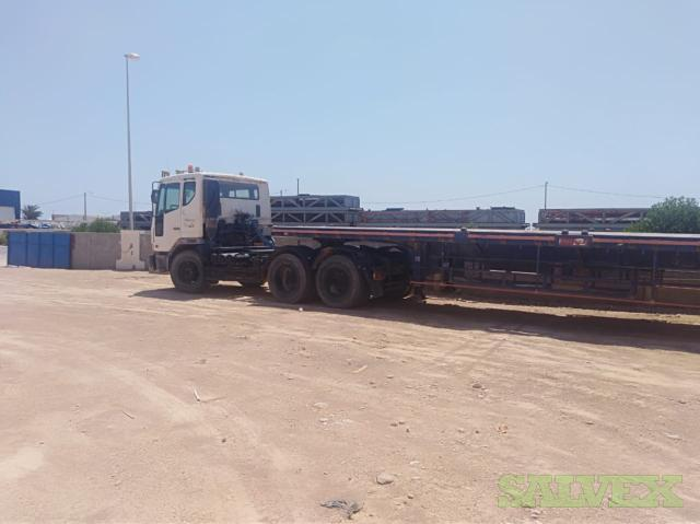 DaewooTruck and Trailer