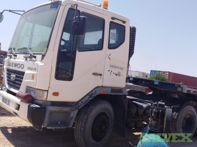 Daewoo Truck 2007 and High Bed Trailer 2010 / 40 T Capacity (1 Truck and Trailer)