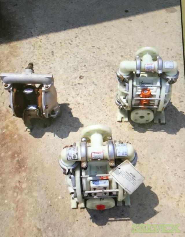 Wilden Diaphragm Pump M2 -3 Units