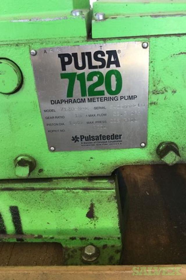Pulsafeeder Pumps 7120, Serrial # 840