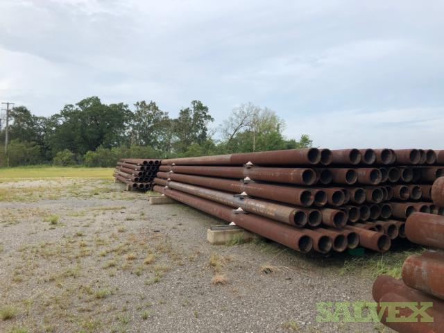 10 .720WT X65 Beveled Bare Surplus Line Pipe (60,000 Feet)