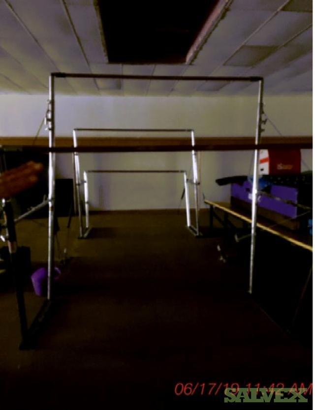 Gymnastics Studio Equipment: Balance Beams, Mats, Trampoline, Spring Boards and More