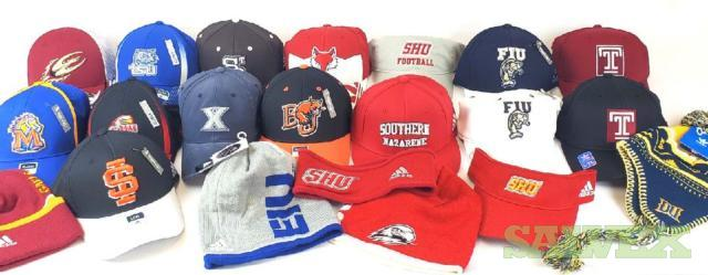 All Adidas NCAA Officially Licensed Hats & Beanies, 4000 Units, New with Tags