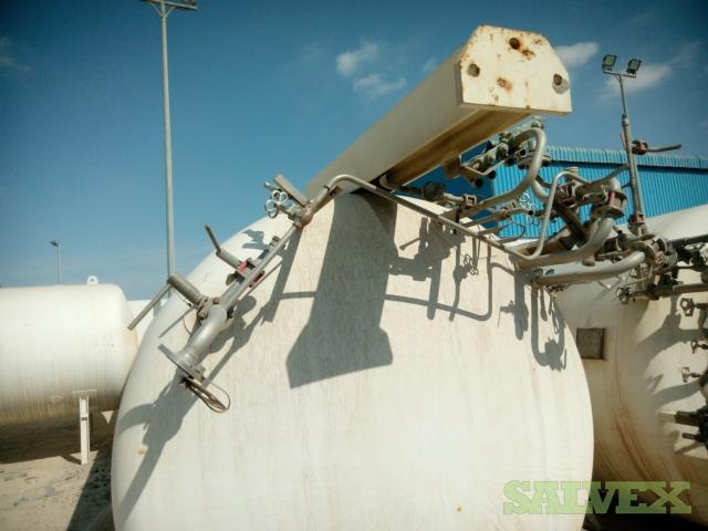Cryolor Pressure Tank: Working Pressure 22 Bar / 10,500 kg / 2,119 Litre / Year 2011