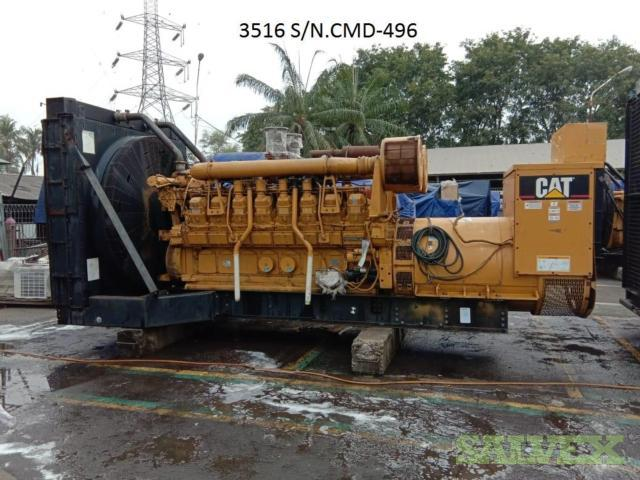 Caterpillar 3516A Open Type Generator 2004