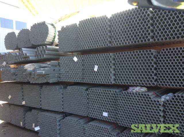 Galvanized Round Tubing 10 - 160,000 Lbs