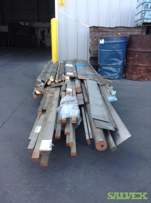 Stainless Flat, Square, and Round Bar - 6,000 Lbs
