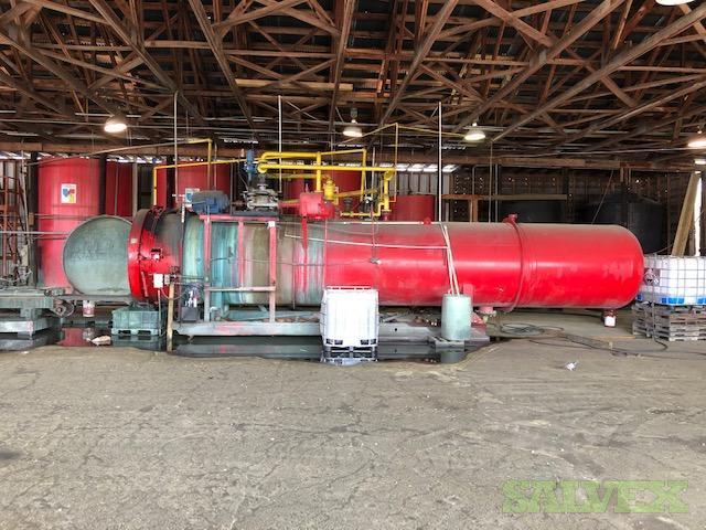 Nat'l BD Cousins 1984 Pressure Wood Treatment Vessel in TX